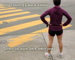 jogger-v-runner