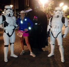 with Darth and the Stormtroopers. 2014 Tinkerbell 1/2 Marathon