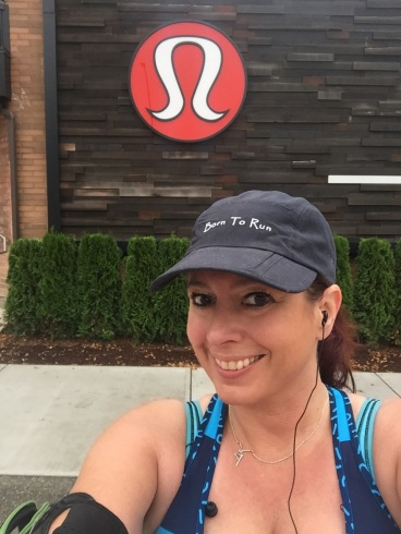 In front of the mothership - Lululemon's Corporate Headquarters